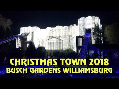 Busch Gardens Williamsburg Christmas Town 2019.Christmas Town At Busch Gardens Williamsburg