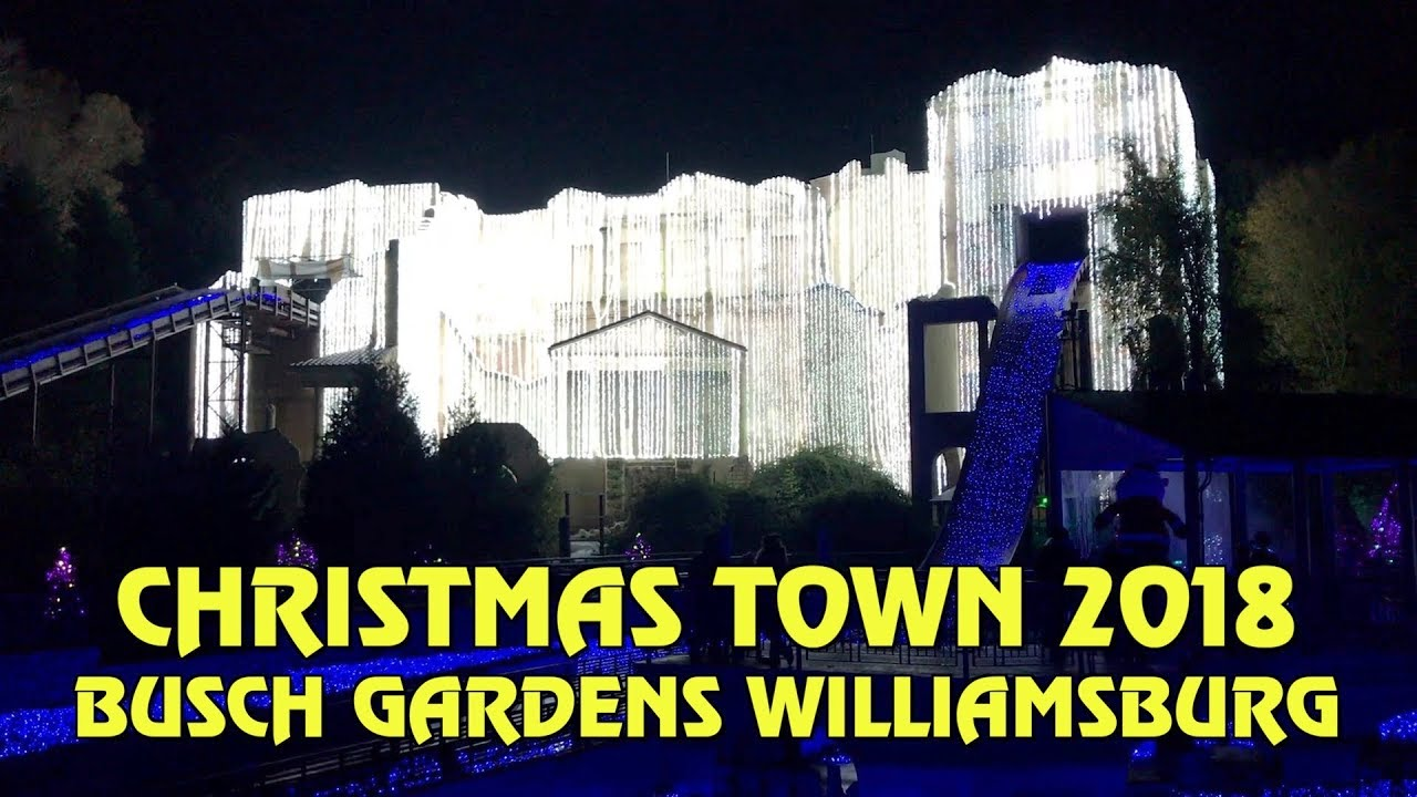 Williamsburg Christmas Town Busch Gardens.Christmas Town At Busch Gardens Williamsburg