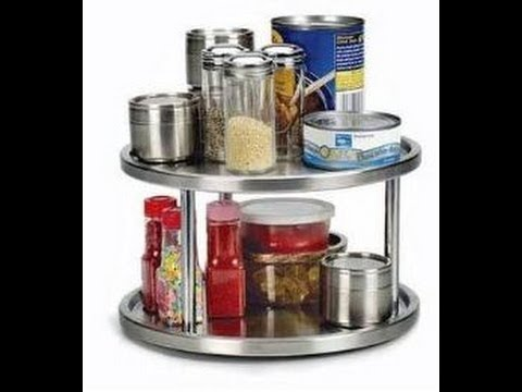 Exceptionnel Lazy Susan 2 Tier Kitchen Spice Turntable