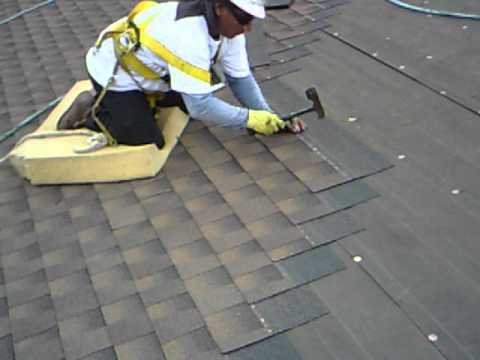 Roof Hand Nailing Youtube