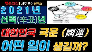 2021 신축년 대한민국 국운(?)예언.. 정치,경제,…