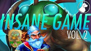 Insane Game Vol 2, Absolute Nuts Brann + Khadgar turn   Dogdog Hearthstone Battlegrounds