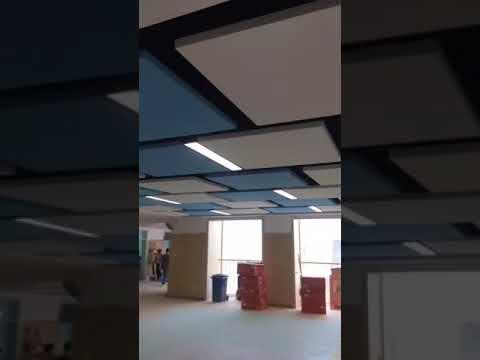 Rock Wool Acoustic Ceiling
