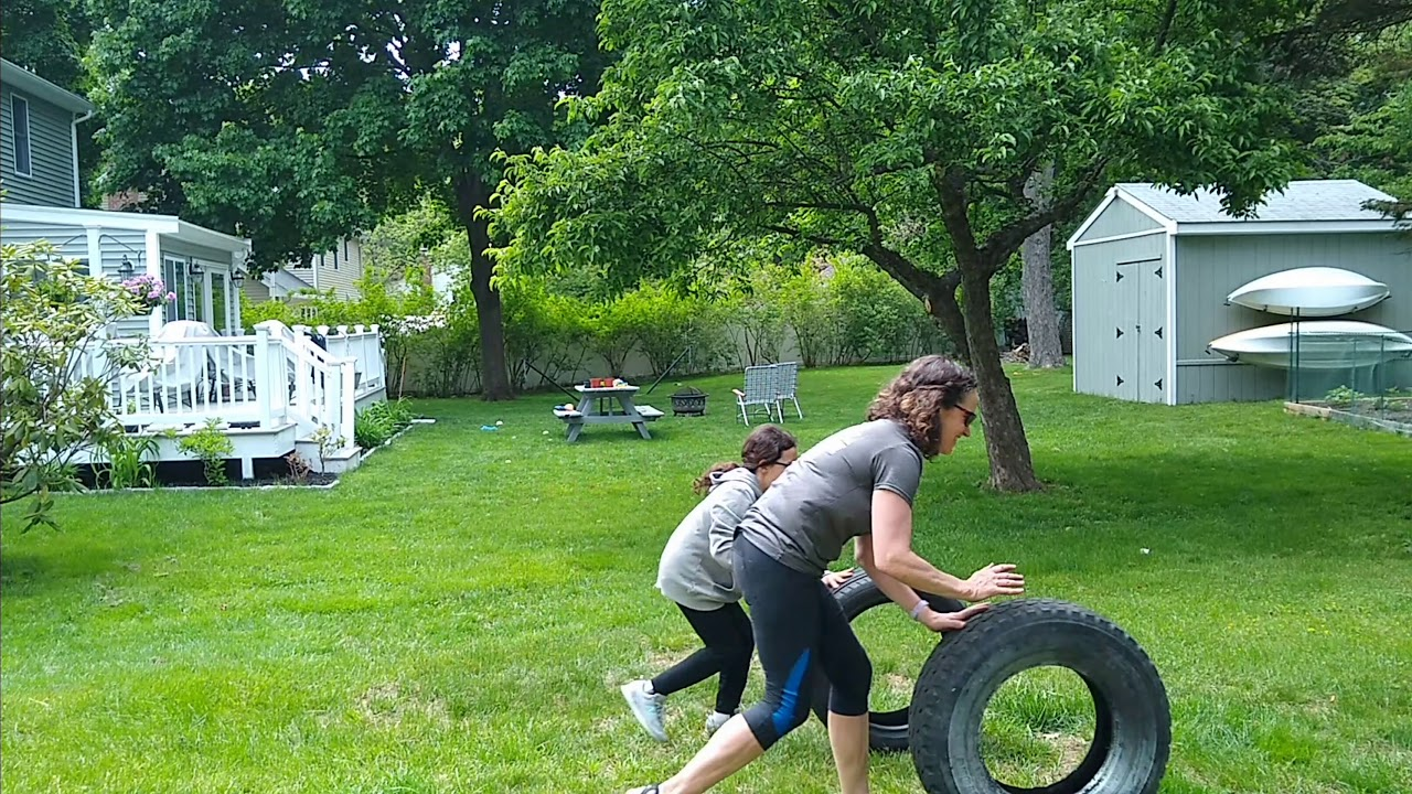 More fun with tire-related obstacles