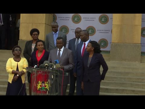 فرانس 24:Kenyan chief justice says judges are receiving 'aggressive' threats