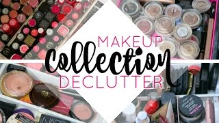 Makeup Collection Declutter