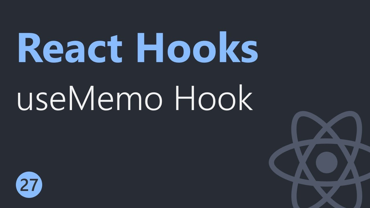 React Hooks Tutorial - 27 - useMemo Hook