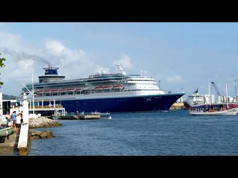 """Cruise Ship Pullmantur """"Sovereign"""" Dez. 2016"""