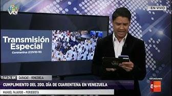 EN VIVO - Cumplimiento del 2do. día de cuarentena en Venezuela