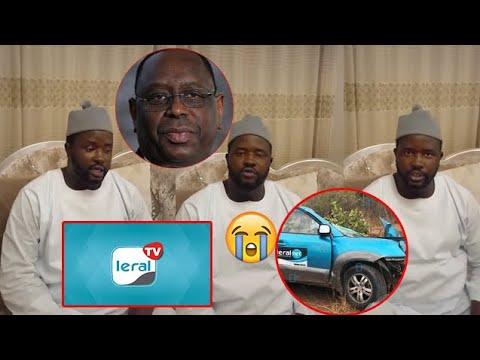 Accident des 3 journalistes de Leral : Cheikh Mbacké Gadiaga ses présente condoleances à Dame Dieng