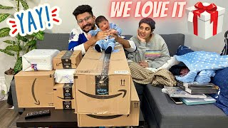 FIRST MAIL TIME WITH OUR BABY ANGAD 👶 What's In My Mail 🎁 PO BOX MAIL OPENING 📬