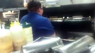 Working at McDonald