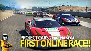 Project Cars 2 - First multiplayer race!!