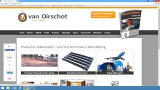van Oirschot Product Bemiddeling   LIVE overgang naar nieuwe internet site