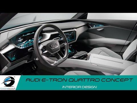Audi e-tron quattro Concept | INTERIOR DESIGN