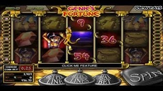 GENIE`S FORTUNE +BIG WIN! +FREE SPINS! +BONUS GAME! online free slot SLOTSCOCKTAIL betsoft