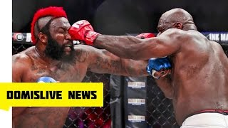 Kimbo Slice vs Dada Dada BREAKING Dada 5000 In Critical Condition Bellator 149 Full Fight Highlights