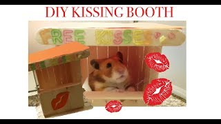 DIY Kissing Booth for Adorable Hamster