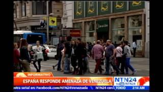 Gob. de Rajoy responde a amenazas de Nicolás Maduro sobre expropiación de multinacionales españolas