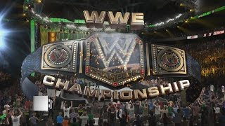 Money In The Bank Predictions Seth Rollins vs Dean Ambrose Ladder WWE World Heavyweight(WWE 2K15)