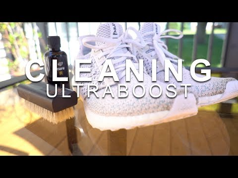 HOW TO CLEAN ULTRABOOST RUNNING SHOES - CREP CURE
