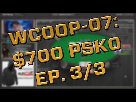 Makin Mulah, $700 WCOOP Knockout Tournament, HUGE CASH! - Ep. 3/3 - runitup.tv