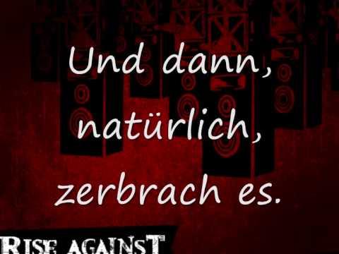 Rise Against - Everchanging Acoustic (English/German Lyrics)