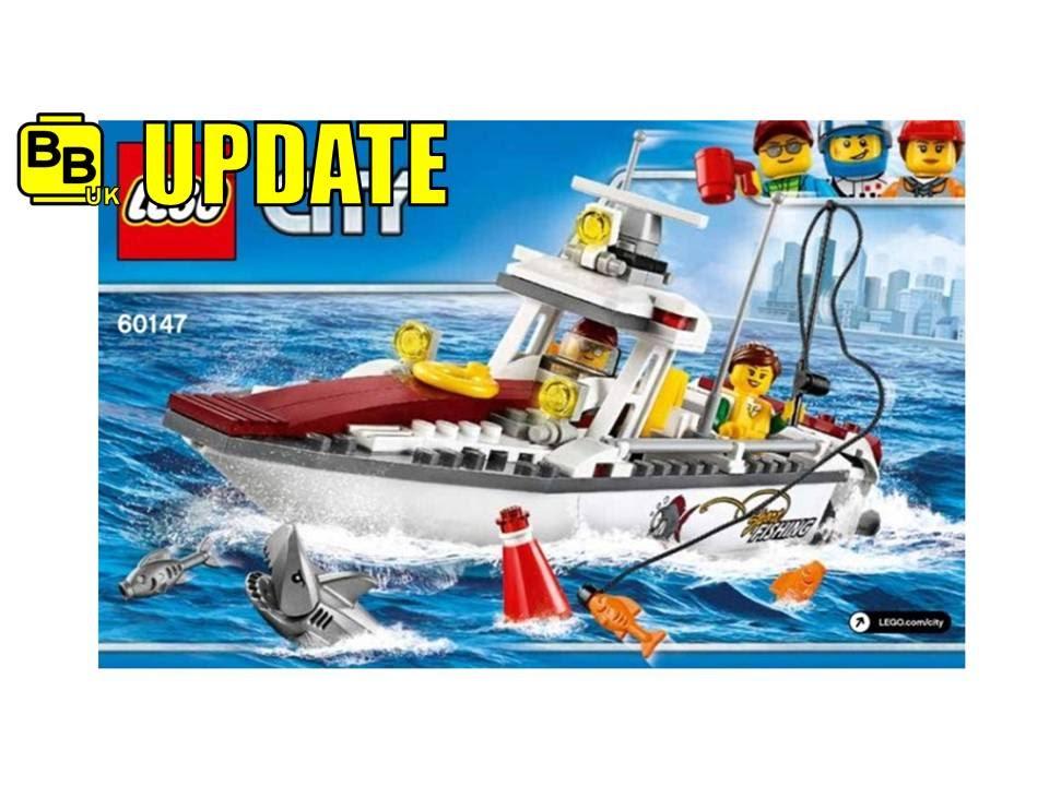 lego 2017 city fishing boat 60147 image revealed news. Black Bedroom Furniture Sets. Home Design Ideas
