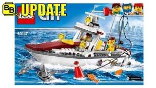 LEGO 2017 CITY FISHING BOAT 60147 IMAGE REVEALED NEWS UPDATE