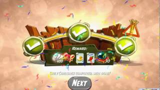 Beat The Daily Challenge King Pig Panic Completed in Angry Birds 2 Thursday