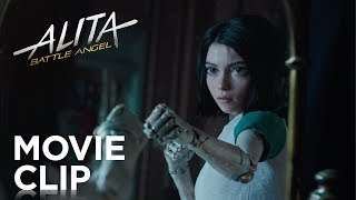 "Alita: Battle Angel | ""Mirror Punch"" Clip 