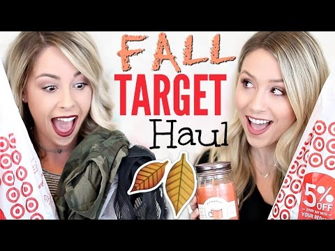 HUGE TARGET HAUL | Fall Decor, Clothing, + MORE!