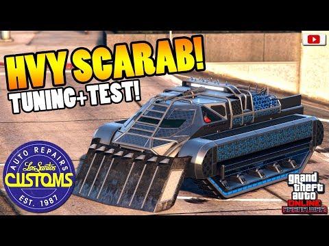 😍🛠Schnellster + Schönster Neuer Panzer SCARAB Tuning+Test!😍🛠[GTA 5 Online Arena War Update DLC] thumbnail