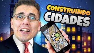 O JOGO DE CONSTRUIR CIDADES PARA CELULARES (TIPO SIMCITY)