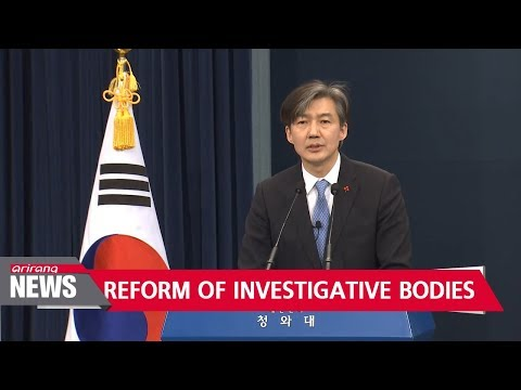 South Korea's presidential office unveils reform plan of key investigative bodies in