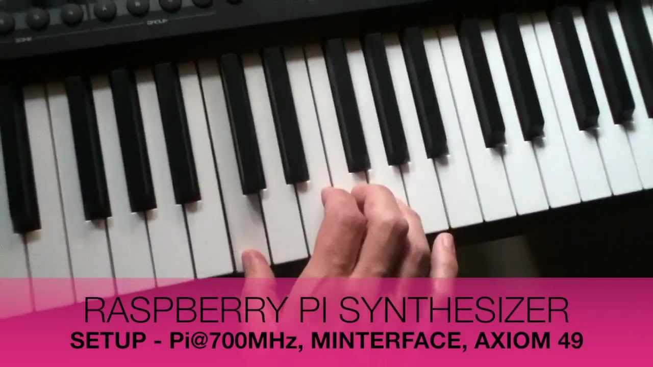 Raspberry Pi Synth Gives A Softsynth Dedicated Hardware | Hackaday