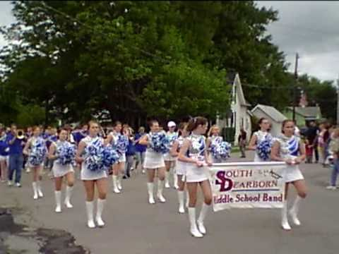 South Dearborn Middle School Marching Band @ Dillsboro Parade 2009