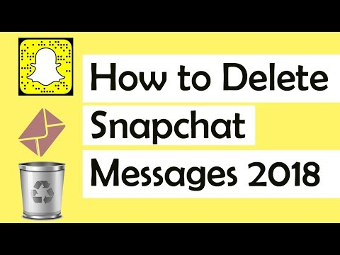 How to Delete Snapchat Messages 2018