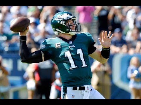 Carson Wentz on Minnesota Vikings defense, Philadelphia Eagles pass protection