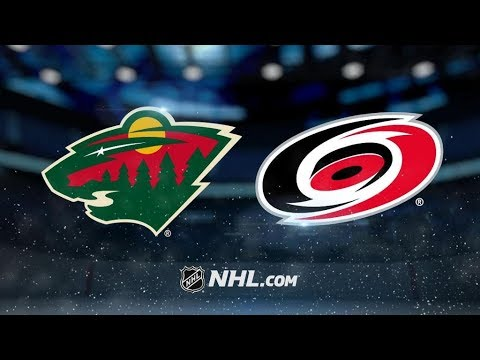 Minnesota Wild Vs. Carolina Hurricanes | NHL Game Recap | October 7, 2017 | HD
