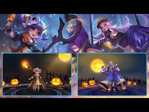 Cách kết hợp combo Alice, Keera mùa Halloween- Garena Liên Quân Mobile