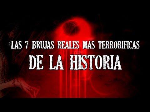 LAS 7 BRUJAS REALES MÁS TERRORÍFICAS DE LA HISTORIA