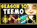 RIOT! THIS IS NOT OKAY! NEW S10 ITEMS MAKE TEEMO 100% ABSURD! TEEMO SEASON 10! - League of Legends