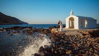 Венчание в часовне Святого Николая в Греции на Крите