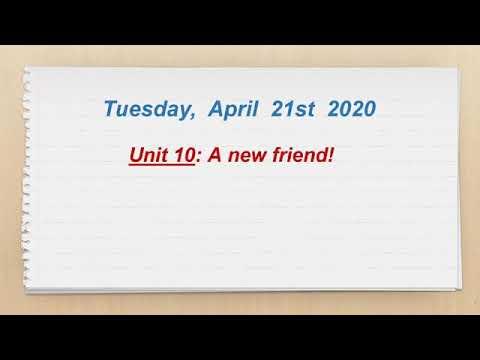 bài học 18 -unit10-22-04-năm covid thứ 2