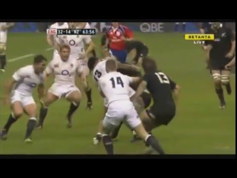 England Demolish the All Blacks By Scoring 3 Tries in Ten Minutes