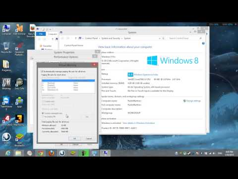 How To Increase The Virtual Memory On Windows