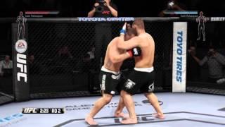 UFC online ps4 lipecarla vs bigZevolve