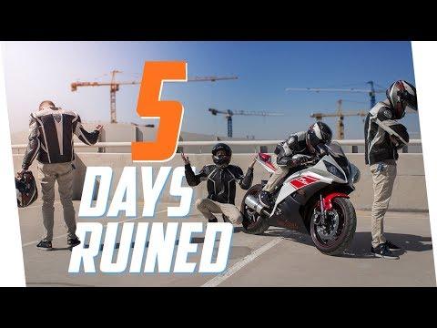 5 Ways To Ruin A Biker's Day