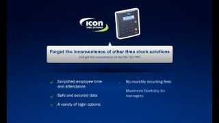 sb 100 pro 2 0 employee time clock demo video
